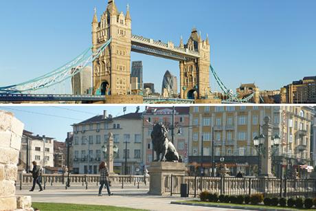 от лъвов мост до лондон бридж